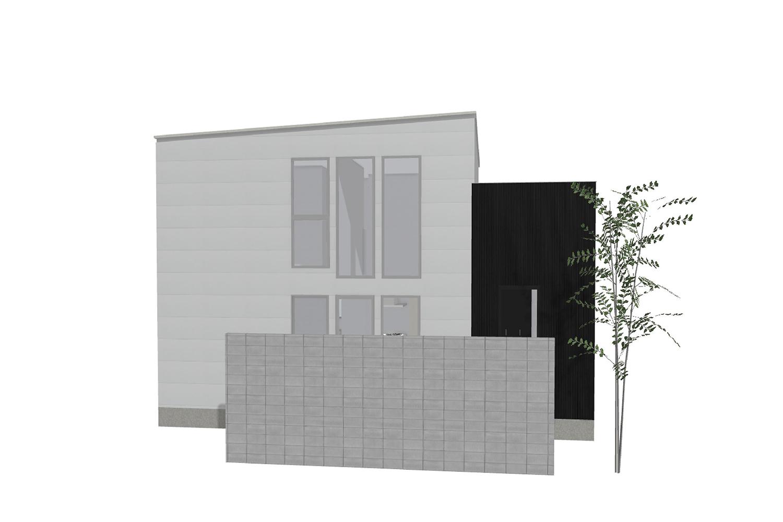 南堀 売却型モデルハウス 南