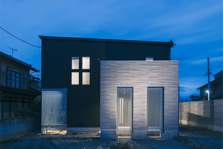 AB STYLE 無機質な美しさのある家